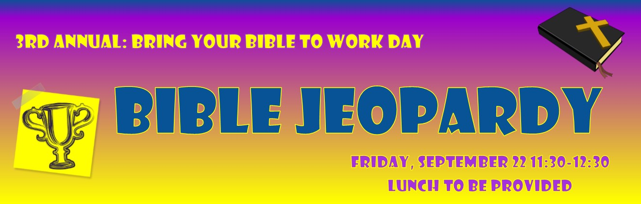BIBLE Jeopardy | Christian Community at ExxonMobil